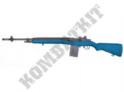 CM032L BB Gun US Military M14 Long AEG Electric Airsoft Combat Rifle 2 Tone Blue Black